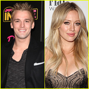 Aaron Carter Seemingly Calls Out Ex Hilary Duff on Twitter