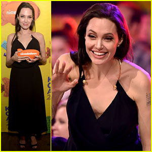 Angelina Jolie Has Inspiring Message for Kids at KCAs 2015