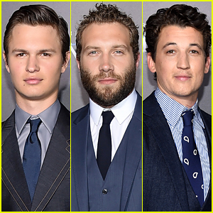 Ansel Elgort & Jai Courtney Look Dapper for 'Insurgent' Premiere