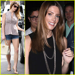 Ashley Greene Shows Her Charitable Side at Super Sweet Toy Drive