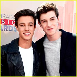 Cameron Dallas & Shawn Mendes Pair Up at iHeartRadio Music Awards 2015!
