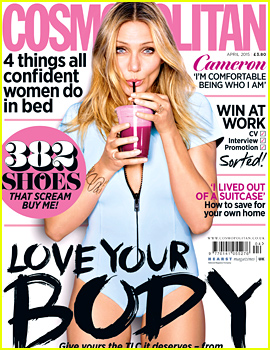 Cameron Diaz Talks About Sex for 'Cosmopolitan UK' Cover!