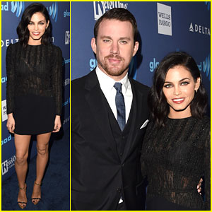 Channing & Jenna Dewan-Tatum Make a Perfect Couple at GLAAD Awards 2015