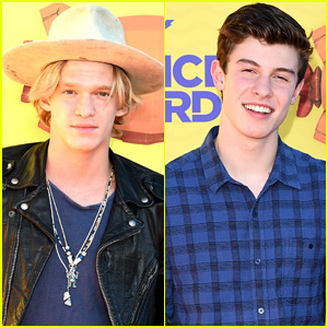 Cody Simpson & Shawn Mendes Hit the Kids' Choice Awards 2015 Orange Carpet
