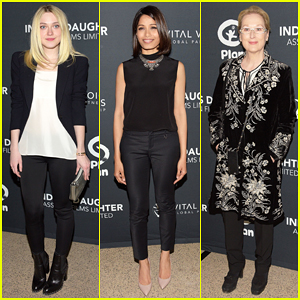 Dakota Fanning, Freida Pinto, & Meryl Streep Support 'India's Daughter' Doc at New York Screening!