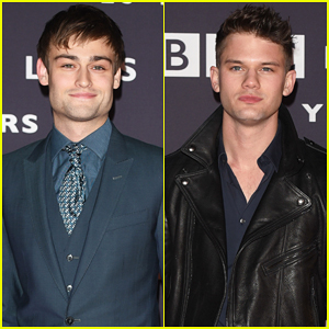 Douglas Booth & Jeremy Irvine Bring Their Good Looks to BBC Films 25th Anniversary!
