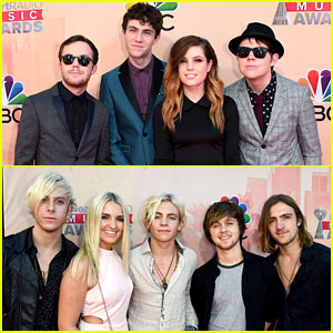 Echosmith & R5 Rock Out at iHeartRadio Music Awards 2015