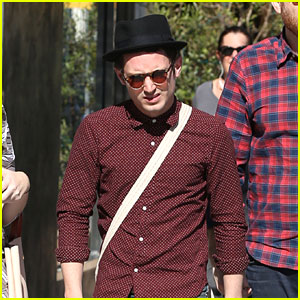 Elijah Wood Takes a Break From Filming to Hang Out With Friends
