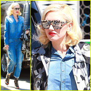 Gwen Stefani Brings Back the All-Denim Look