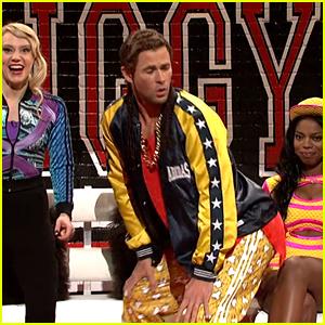 [VIDEO] Chris Hemsworth On 'Saturday Night Live': Twerks ...