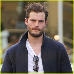 Jamie Dornan Steps Out Amid 'Fifty Shades' Salary Rumors