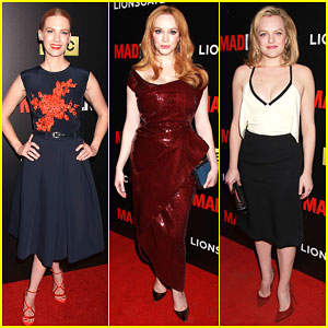The 'Mad Men' Cast Gets All Dressed Up For Special Screening