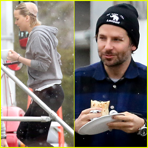 Jennifer Lawrence & Bradley Cooper Get to Work on 'Joy'