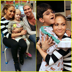 Jennifer Lopez Gives Children's Hospital Los Angeles a 'Home' Special Screening