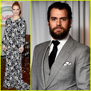 Jessica Chastain & Henry Cavill Both Step Out in Style for London's Jameson Empire Awards 2015