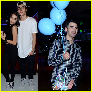 Joe Jonas Gets Festive at JJ's #TBT Party with Monster High!