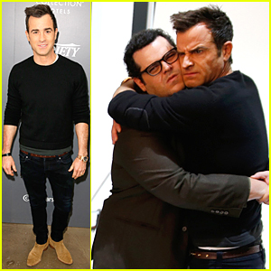 Justin Theroux & Josh Gad Build Their Bromance at Variety Studio