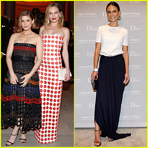 Kate Bosworth & Kate Mara Go Strapless Classy at Mid-Winter Gala