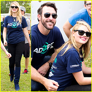 Kate Upton & Boyfriend Justin Verlander Encourage Pet Adoption Before Tigers Game
