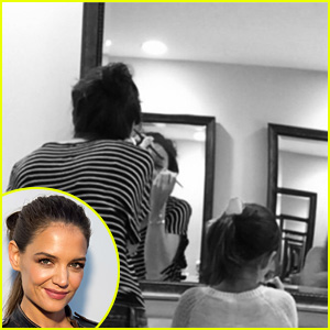 Katie Holmes Spends 'Girl Time' With Daughter Suri!