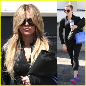 Khloe Kardashian Follows in Kim's Footsteps & Goes Even Blonder