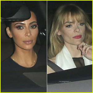 Kim Kardashian & Jaime King Enjoy Night Out at Chateau Marmont