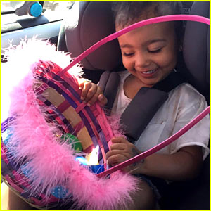 Kim Kardashian Shares Pics of North West's Easter Egg Hunt!