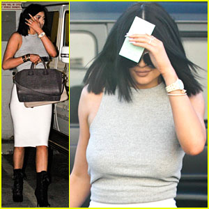Kylie Jenner Gets Her Nails Done After Being Named Nip + Fab's New Ambassador