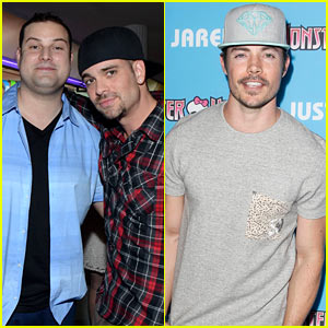Mark Salling & Max Adler Throw It Back to 'Glee Days' with JJ!