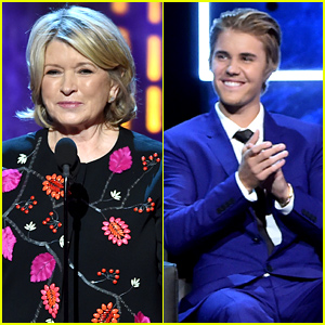 Martha Stewart Killed It at Justin Bieber's Roast, Jokes About Prison & Pot (Video)
