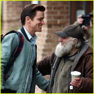 Matt Bomer Gives a Great Big Hug to Radioman