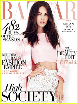 Megan Fox Says Her Son Noah is Obsessed with Kimonos