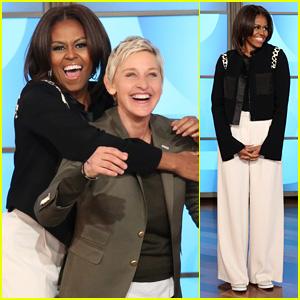 Michelle Obama Dances to 'Uptown Funk' on 'Ellen' - Watch Now!