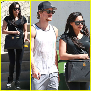Pregnant Naya Rivera Decides to Ditch Her Extensions