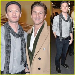 Neil Patrick Harris & Hubby David Burtka Step Out for Day Date at The Armory Show!