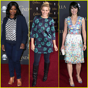 Octavia Spencer, Busy Philipps, & More Make It A Family Night at 'Cinderella' Premiere!