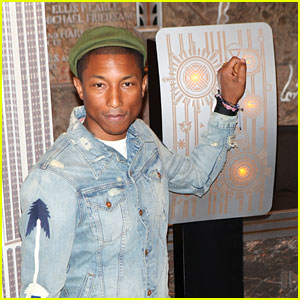 Pharrell Williams Lights Up the Empire State Building