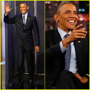 President Obama Denies Having Kanye West's Number & Knowledge of Aliens on 'Kimmel' - Watch Here!