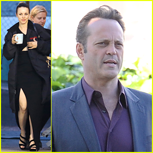 Rachel McAdams Glams Up For 'True Detective' Night Scenes