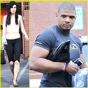 Rumer Willis & Michael Sam Are Rehearsing Non-Stop For 'Dancing With the Stars'