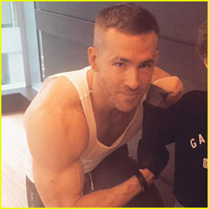 Ryan Reynolds Shows Off 'Deadpool' Muscles in Workout Pic!