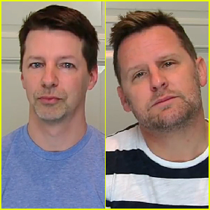 Sean Hayes & Hubby Lip Sync Iggy Azalea & Jennifer Hudson's 'Trouble' - Watch Now!