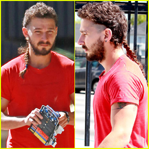 Shia LaBeouf's Rattail is Thicker & Longer Than Ever