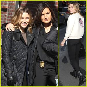 Sophia Bush & Mariska Hargitay Bring Major Girl Power to 'Chicago PD' & 'Law & Order' Crossover Episode