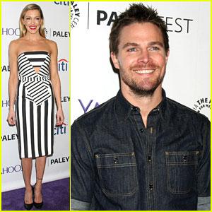 Stephen Amell & Katie Cassidy Bring 'Arrow' To PaleyFestLA