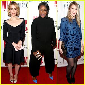 Uzo Aduba & Lily Rabe Help Honor Sarah Paulson at MCC Theater Miscast Gala 2015!