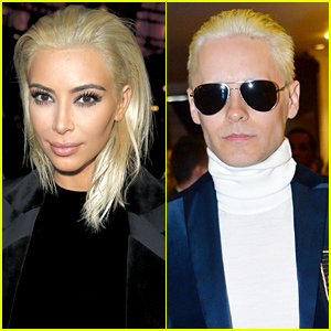 Who Wore Platinum Blonde Better: Kim Kardashian or Jared Leto?