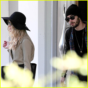 Zayn Malik Emerges With Fiance Perrie Edwards After 'I Won't Mind' Solo Track Drops