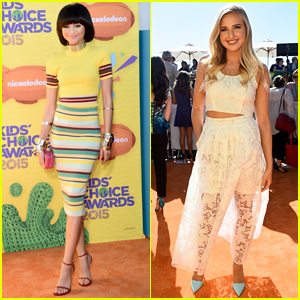 Zendaya Hits First Carpet Since Oscars Controversy at Kids' Choice Awards 2015