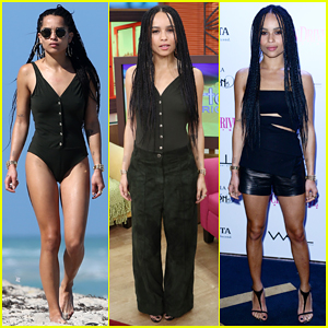 Zoe Kravitz Hits Miami Beach Following Early Morning 'Insurgent' Promo!